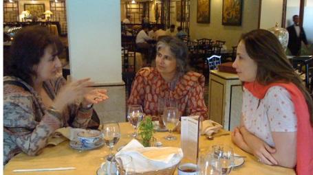 Feryal Gauhar, Afia Salam and Ayeshah Alam