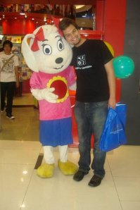 zubair with minnie