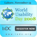 World Usability Day 2008