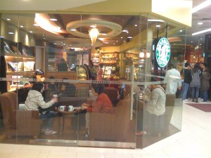 starbucks at QM