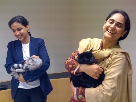 rabia-and-salaina-and-the-cats