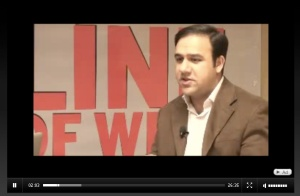 umar saif on the set of ITLoW