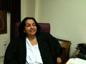a happy judge