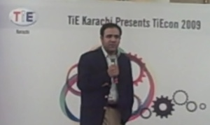 Umar Saif at TiEcon 2009