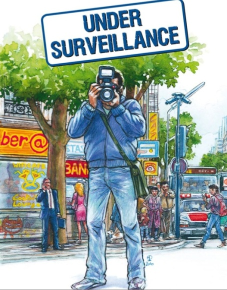 Under Surveillance – a comic which highlights privacy issues