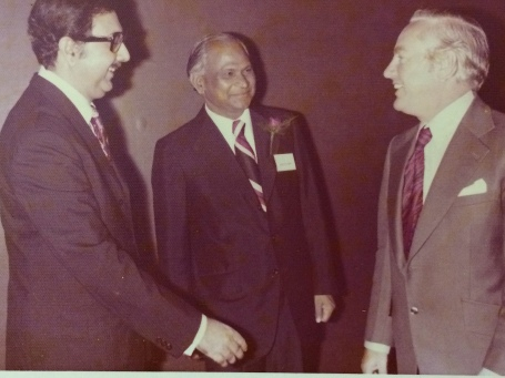 Abbaji with Jamil Nishtar and HSBC head