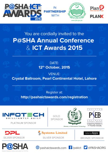 Invite - PASHA ICT Awards 2015