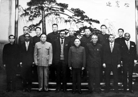 MA with Deng Xiao Peng, Chou EnLai, Jamil Nishtar-2